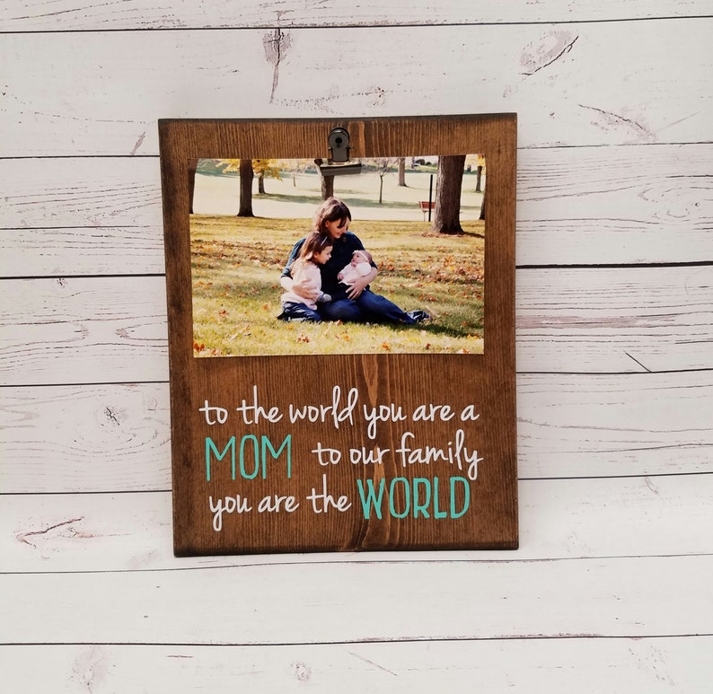 First Mother's Day Picture Frame gift i love you mommy image 0