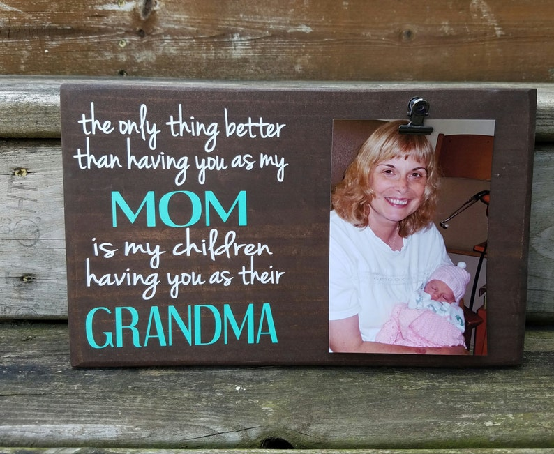 Mother's Day Picture Frame gift Gift for mom photo image 0