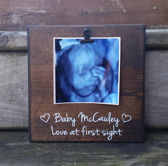 Regalo de marco de imagen de ultrasonido Regalo para mamá