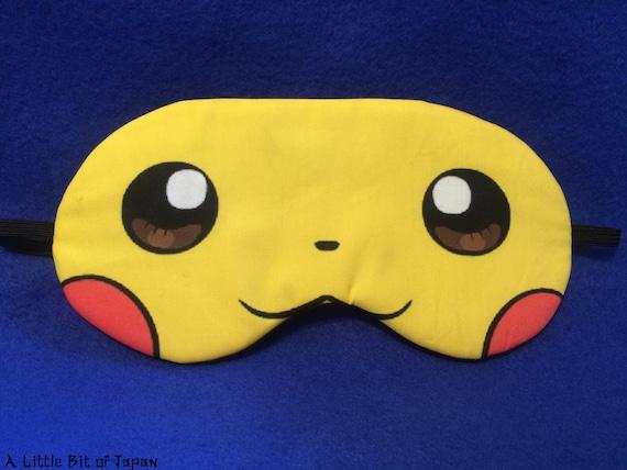 Pokemon Pikachu Sleep Mask Satin Eye Mask