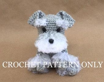 Kerry Blue Terrier dog with wire frame. Amigurumi Crochet Pattern ... | 270x340