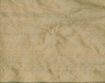 GREIGE wild silk fabric