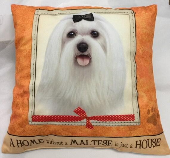 maltese pillow