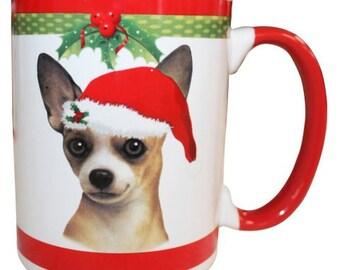 Chihuahua Christmas Mug, Chihuahua Gifts, Dog Gift