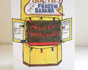 Arrested Development Christmas card