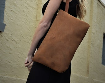 Sherry Leather Clutch