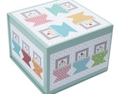 MARKED DOWN Prim Baskets Table Runner Boxed Kit - Finished Size 27 quot x 57 quot quot by Lori Holt for Riley Blake Designs-KTB-16559