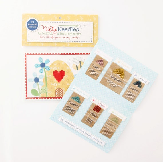 Nifty Needles by Lori Holt of Bee in my Bonnet for Riley blake Designs- 70 Needles