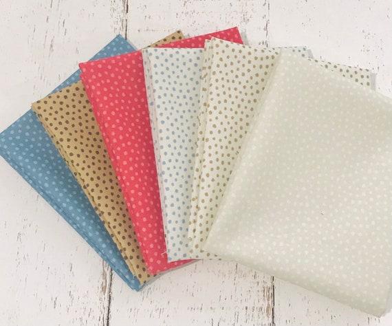 Regency Zarafa- Fat Quarter Bundle (6 Fabrics) by Christopher Wilson Tate for Moda