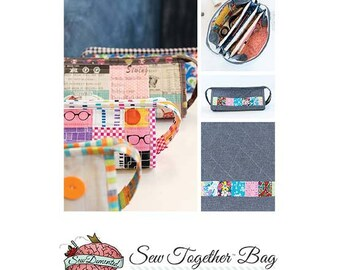 Sew Together Bag Pattern by Sewdemented