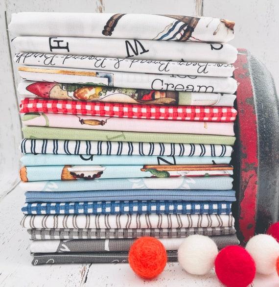 Hungry Animal Alphabet - 1/2 Yard Bundle (18 Fabrics) by J Wecker Frisch for Riley Blake Designs