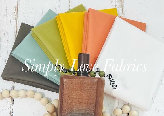 Cozy Up Coordinates- Fat Quarter Bundle (6 Fabrics) by Corey Yoder for Moda Fabrics