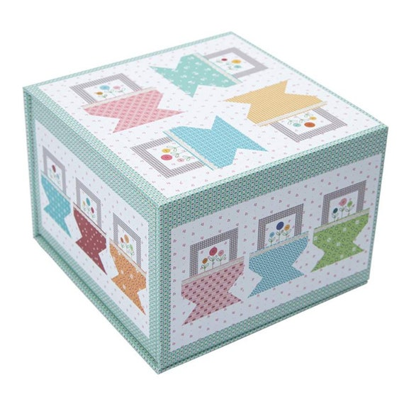 """Prim Baskets Table Runner Boxed Kit - Finished Size 27"""" x 57"""""""" by Lori Holt for Riley Blake Designs-KTB-16559"""