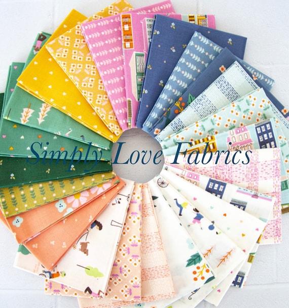 Community- Fat Quarter Bundle (FQ-11100-24 Fabrics) by Citrus and Mint Designs for Riley Blake Designs