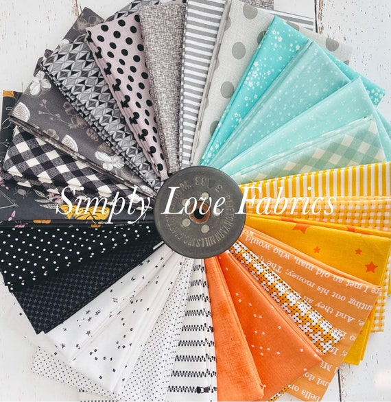 Woodberry Way Halloween Fat Quarter Bundle- 25 Fabrics- Riley Blake Designs