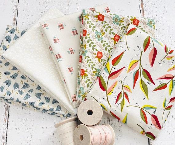Songbook- Fat Quarter Bundle (5 Fabrics Cream) Fancy that Design House for Moda