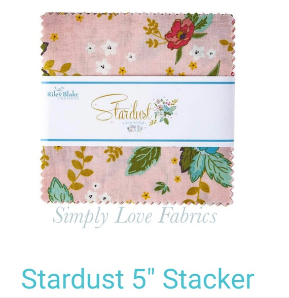 "Stardust- 5"" Stacker (5-10500- 42 Fabrics) by Beverly McCullough for Riley Blake Designs"
