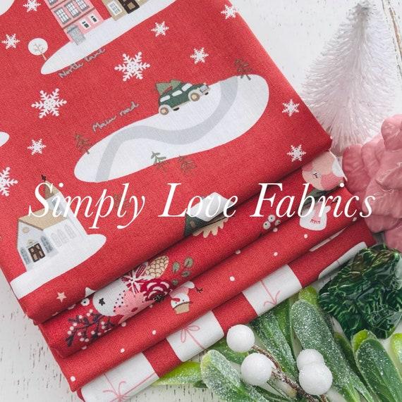 Warm Wishes- 1/2 Yard Bundle (4 Redwood Fabrics) by Simple Simon and Company