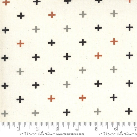 Smoke and Rust- (1/2 Yard Increments, Cut Continuously) Plus 5135-12 Flax - Lella Boutique for Moda