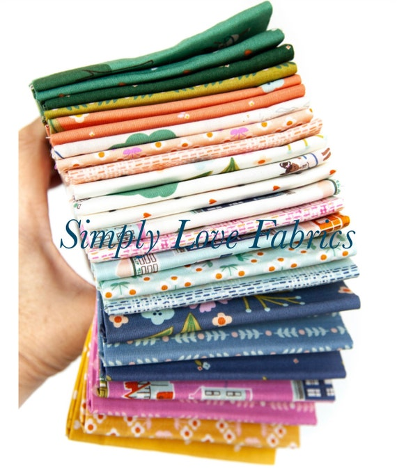 Community- 1/2 Yard Bundle (24 Fabrics) by Citrus and Mint Designs for Riley Blake Designs