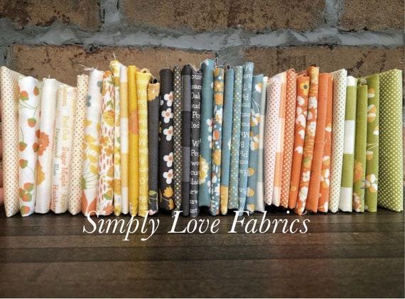 Cozy Up- 1/2 Yard Bundle (Fabrics) by Corey Yoder for Moda Fabrics