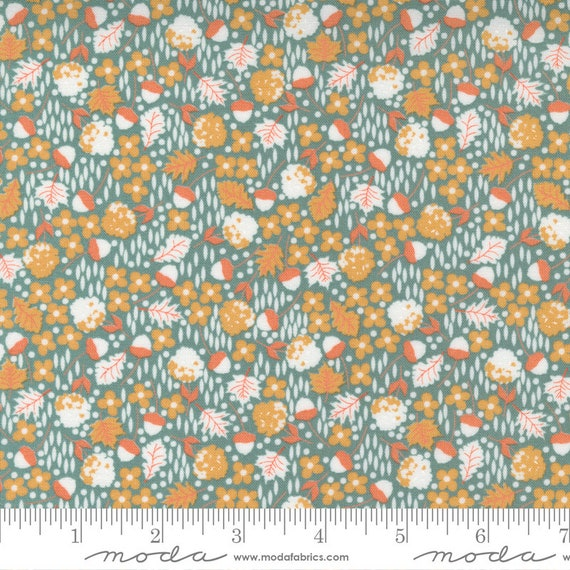 Cozy Up- 1/2 Yard Increments, Cut Continuously (29122 17 Scattered Ditsy Blue Skies) by Corey Yoder for Moda Fabrics