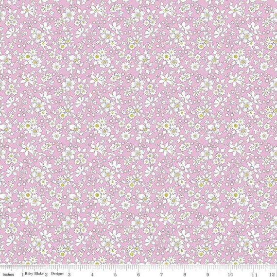 The Deco Dance Collection - 1/2 Yard Increments, Cut Continuously (04775922A - Maddsie A) Liberty Fabrics for Riley Blake Designs