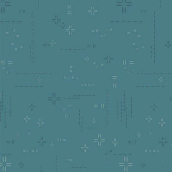 Decostitch Elements- 1/2 Yard Increments, Cut Continuously- DSE 716 Teal Fog for Art Gallery Fabrics