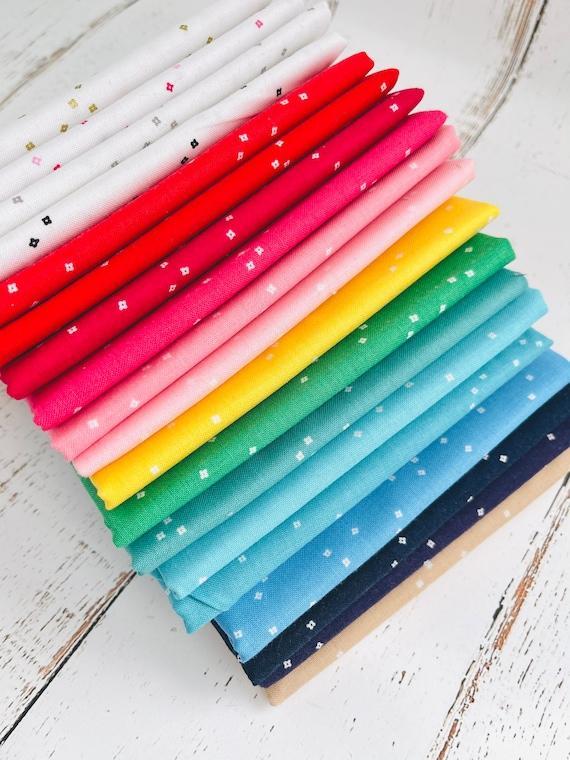 1/4 Yard Bundle (19 Fabrics) Blossom by Christopher Thompson for Riley Blake Designs