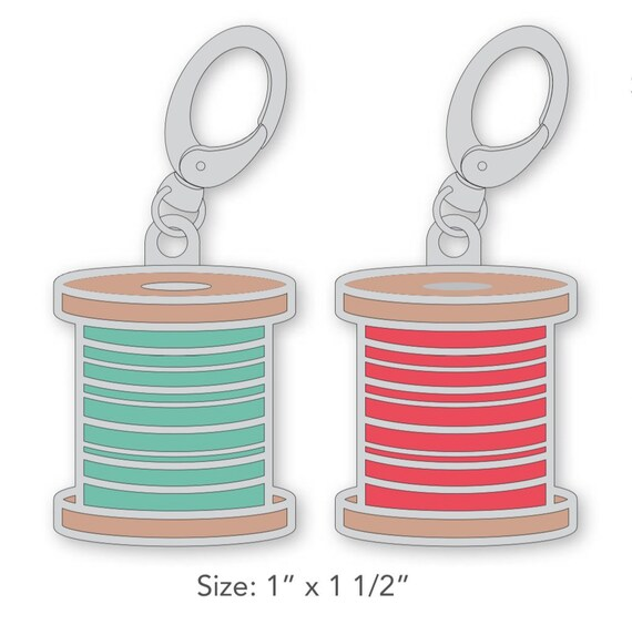 Stitch Spool Charm-Color Options- by Lori Holt for Riley Blake Designs- ST-21956/21957