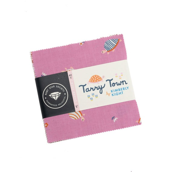 Tarry Town- Charm Pack (RS3020PP- 42 Fabrics) by Kimberly Kight for Ruby Star Society