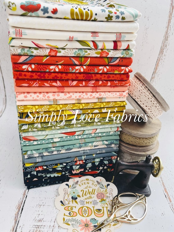 Songbook- 1/2 Yard Bundle (30 Fabrics) NO Panels Included- Fancy that Design House for Moda
