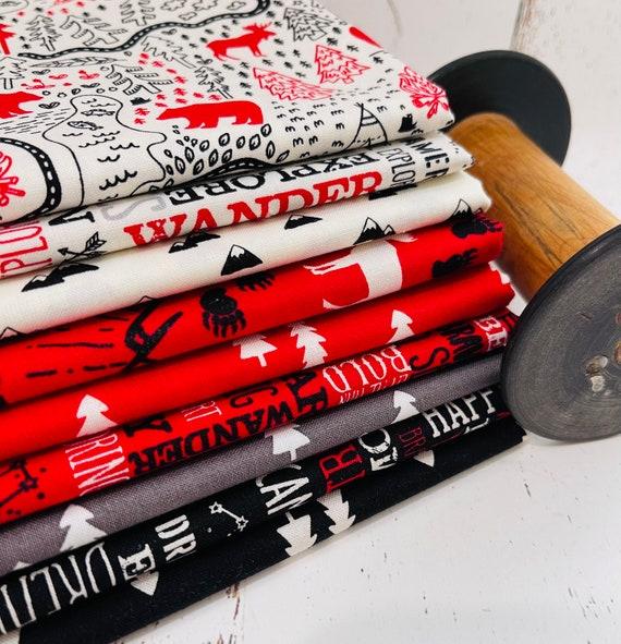 Wild at Heart- 1/2 Yard Bundle (9 Fabrics) by Lori Whitlock for Riley Blake Designs