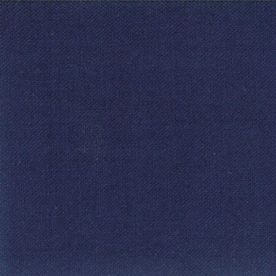 Bella Solids for Moda- 1/2 Yard Increments- Cut Continuously- 9900-236 Nautical Blue