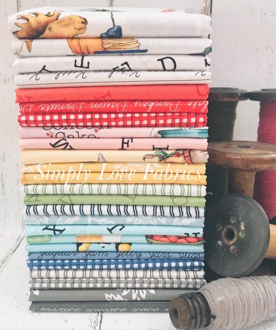 Hungry Animal Alphabet - 1/2 Yard Bundle (25 Fabrics) by J Wecker Frisch for Riley Blake Designs