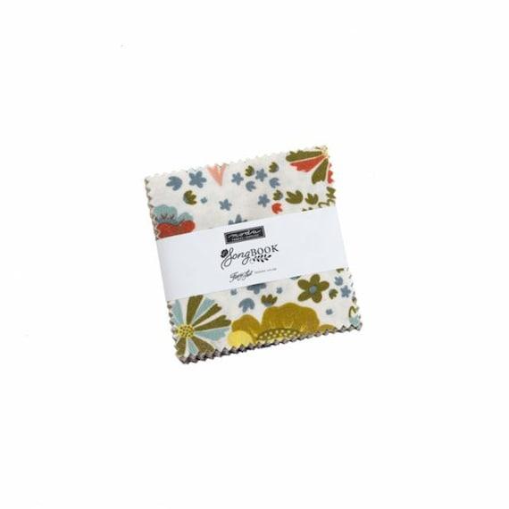 Songbook- MINI Charm Pack (45520MC-42 Fabrics) Fancy that Design House for Moda