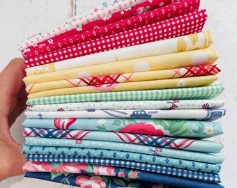 Notting Hill- 1/4 Yard Bundle (19 Fabrics) by Amy Smart for Riley Blake Designs