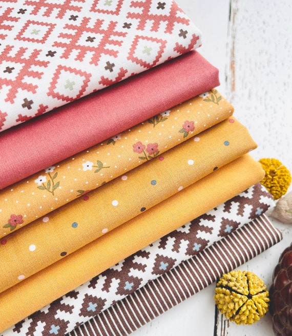 Folktale - 1/2 Yard Bundle (7 Fabrics) Lella Boutique for Moda