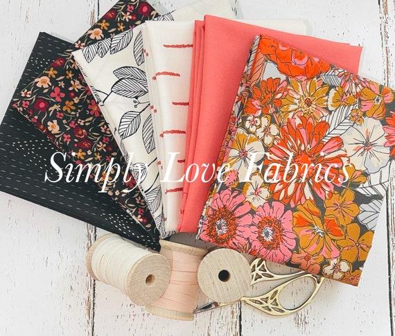Kismet- Fat Quarter Bundle (6 Fabrics) by Sharon Holland for Art Gallery fabrics
