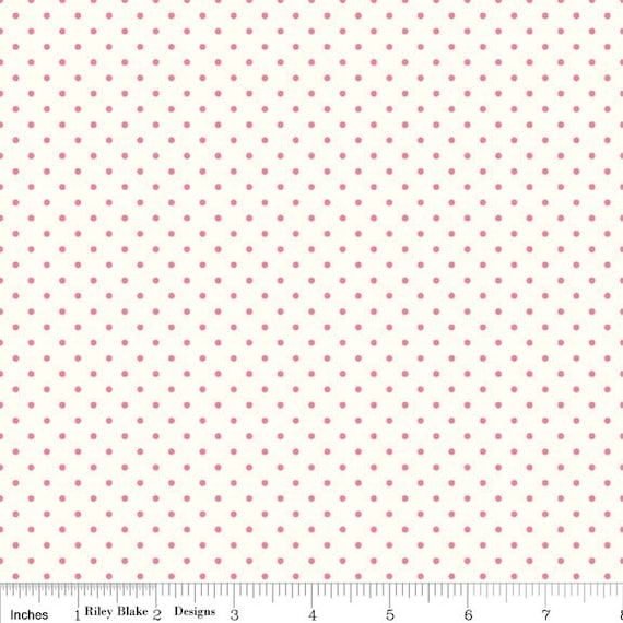 La Creme Swiss Dot RED by Riley Blake Designs- C600-80- 1/2 Yard Increments, Cut Continuously
