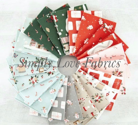 Warm Wishes- Fat Quarter Bundle (FQ-10780-21) by Simple Simon and Company