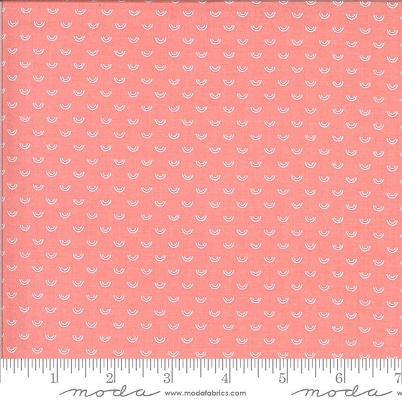 Shine On- 1/2 Yard Increments, Cut Continuously (55218-14 Pink Over the Rainbow) by Bonnie and Camille for Moda