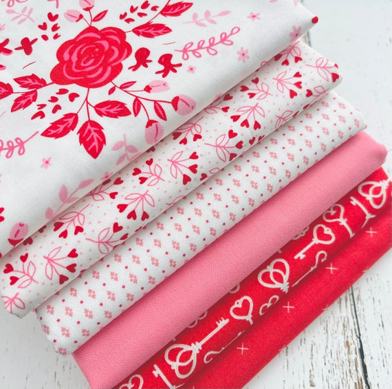 Be Mine- 1/2 Yard Bundle (6 Fabrics) by Stacy Iset Hsu for Moda