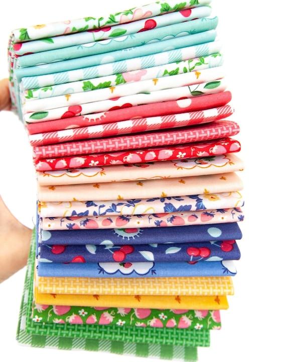 Summer Picnic - 1/2 Yard  Bundle  (24 Fabrics) by Melissa Mortenson for Riley Blake Designs