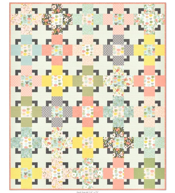 Trixie Quilt Pattern by Hello Melly Designs for Riley Blake Designs- P116- Size Options