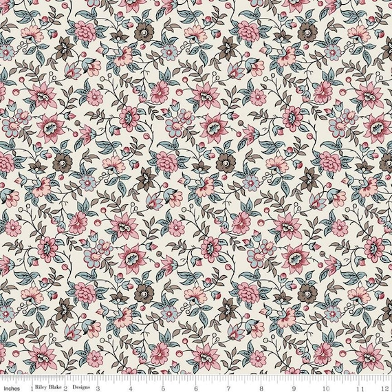 Jane Austen at Home (1/2 Yard Increments, Cut Continuously) C10004 Elinor- by Riley Blake Designs