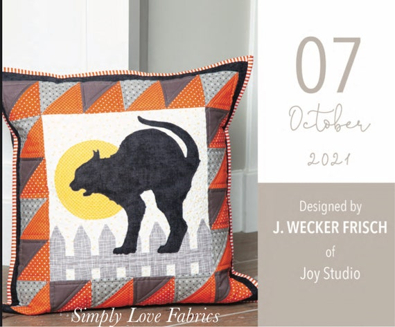 """Pillow Kit of the Month- October- J. Wecker Frisch for Riley Blake Designs- 20"""" x 20"""""""