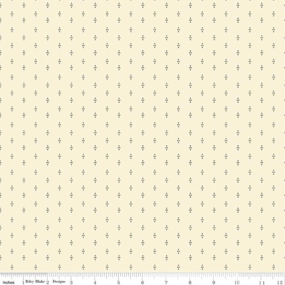 Hush Hush-1/2 Yard Increments, Cut Continuously (11164 Buttermilk Shirting) by Stacy West of Buttermilk Basin Design For Riley Blake Designs