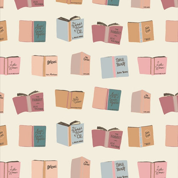 Bookish- 1/2 Yard Increments, Cut Continuously- (Passport 63514) by Sharon Holland for Art Gallery fabrics