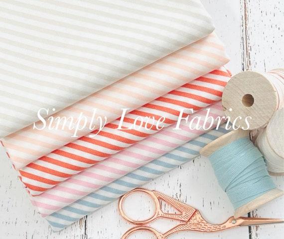 Make Time- 1/2 Yard Bundle (5 Stripe Fabrics) by Aneela Hoey for Moda